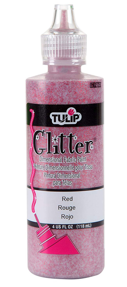 Tulip-Dimensional-Fabric-Paint-Glitter-Red