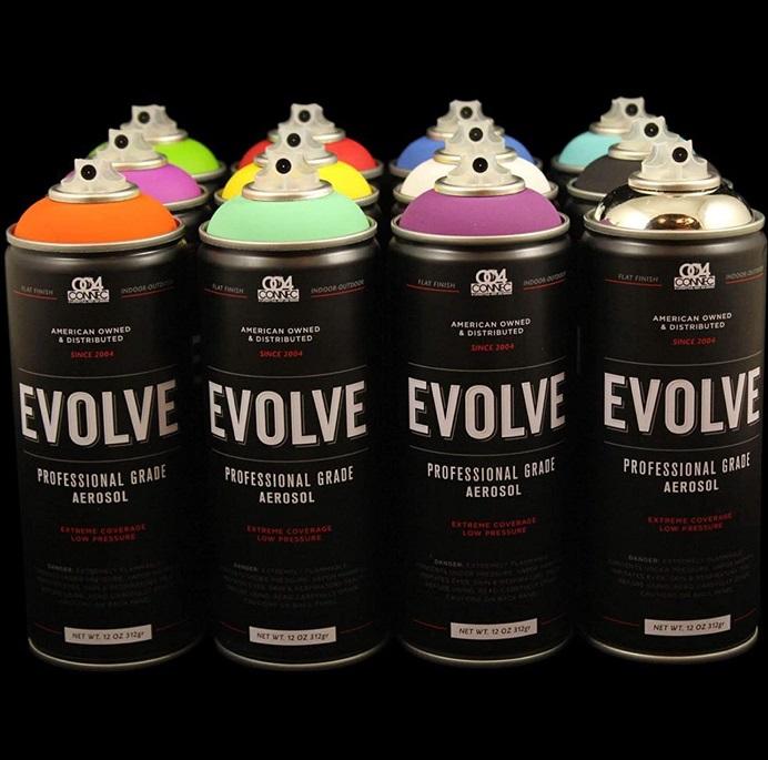 Evolve Spray Paint